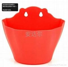 cartoon plastic flower pot,flower pot,