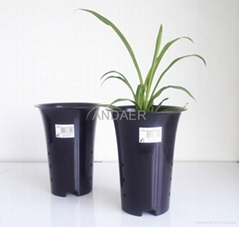 factory price PP plastic orchid flower pot