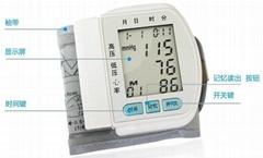Wrist blood pressure instrument / Sphygmomanometer CK-102S