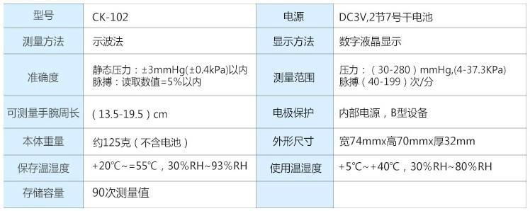 手腕式血压计/血压仪/血压表 4