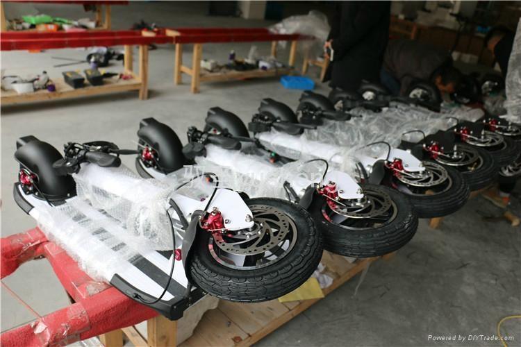 厂家直销驭圣电动滑板车Y10代步车自平衡车电动扭扭车 4