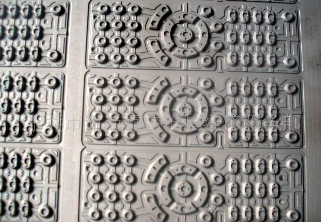 聚興利硅橡膠模 、手機按鍵模 3