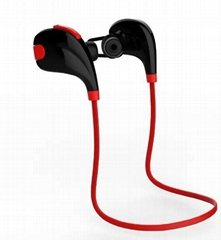 High Quality Sport style headset in-ear bluetooth earphone for mobile phone