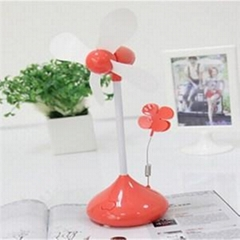 Portable Desk Decorative Usb Fan With Card Clip(LJQ-054)