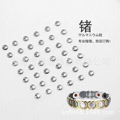 锗粒高纯金属锗99.999%钛锗手链锗颗粒 GE Z-58