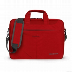 Kingslong women laptop briefcase red