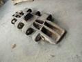 Wear resistant steel plate chain