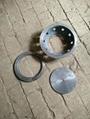 Cast pig iron vaporization pot 2