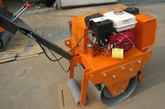 汽油压路机LHYL-700A手扶单轮重型汽油压路机