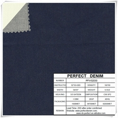 cotton lycra denim fabric for denim dress