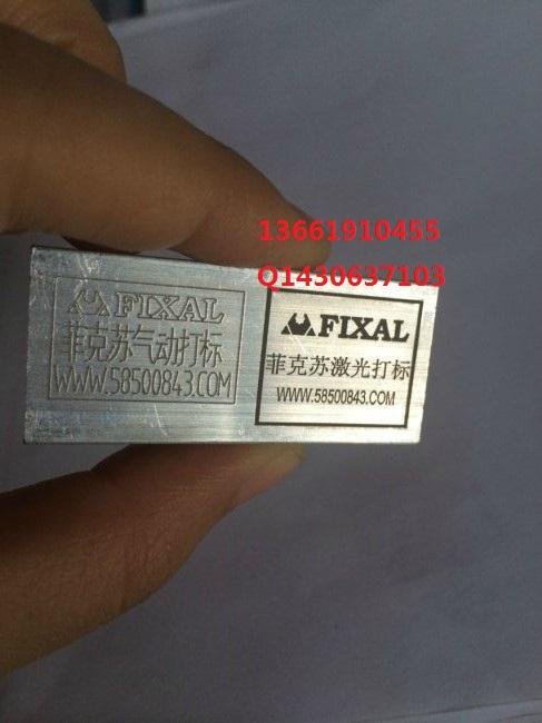 芜湖GDS-09菲克苏厂家二维码气动打标机 2
