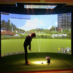 室內高爾夫模擬器超精密度款