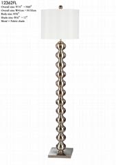 STACKED BALL METAL FLOOR LAMP