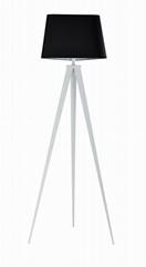 Tripod iron floor lamp