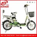 厂家直销卡瓦崎电动车16寸电动自行车踏板车电动助力车电单车 1