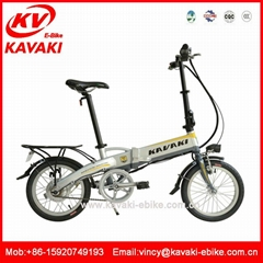240W Eletric bike with 36V/8Ah lithium battery,China folding electric bicycle
