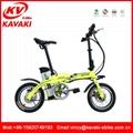 14 inch alloy frame 48v motor folding bicicletas electrica/Folding electric bike