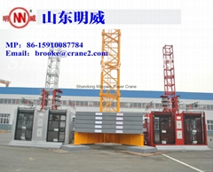 Tc6118-10t Mingwei Tower Crane with Good Quality and Low Price