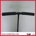 CreateFun 53 inch mini indoor hexagon trampoline with handle bar 1