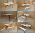 C183 6'rectangular Patio Folding Table