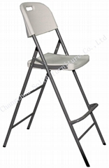 Hy52 White Resin Metal Folding Chairs for Camping