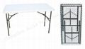 C122 4'rectangular Resin HDPE Folding