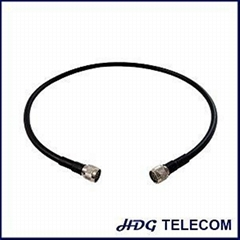 RG8 RF Cable Assemblies With N Male Connector