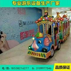供應無軌小火車遊樂設備 觀光小火車價格