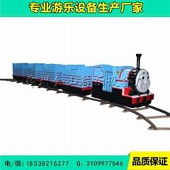 厂家直销轨道小火车游乐设备 儿童小火车厂家