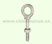 SHOULDER TYPE NUT EYE BOLT H.D.G. Forged Carbon Steel