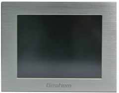 8inch TFT LCD industrial touch screen monitor Front panel IP65