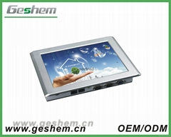 10 inch fanless industrial computer with