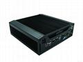 四代酷睿I3/I5/I7迷你無風扇嵌入式安裝合式工控機 2