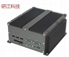 研江科技帶PCI 工控機 酷睿多串口工控機 無風扇嵌入式整機