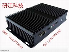 研江科技 觸摸D2550工控機 無風扇寬溫工控機 嵌入式工控機廠家