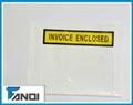 plastic document pouches invoice