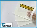 Plain packing list envelope
