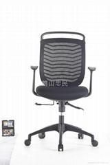 忠民傢具MS7001 學生書房椅休閑布藝轉椅