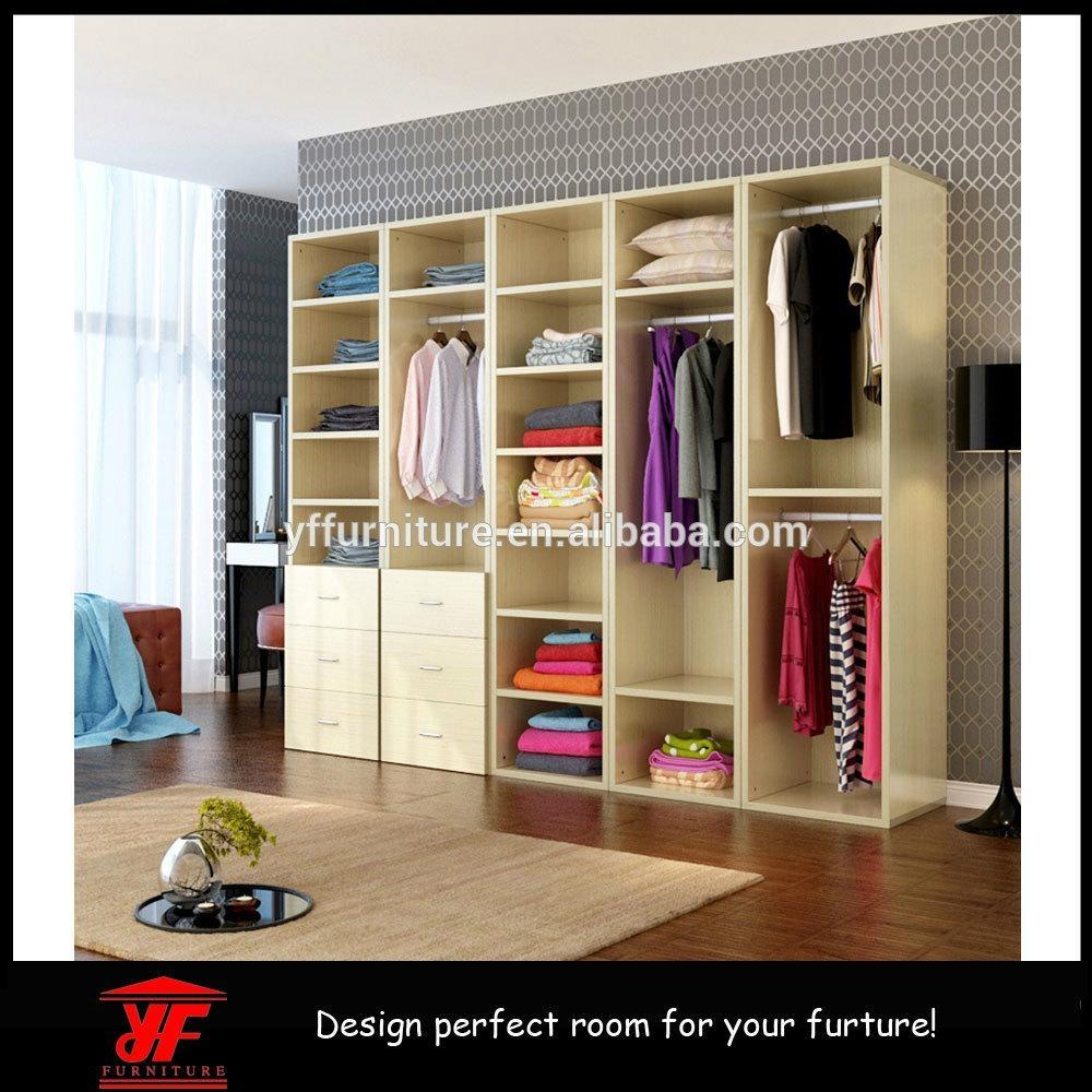 Latest Bedroom Diy furniture Designs Wooden Veneer Closet ...
