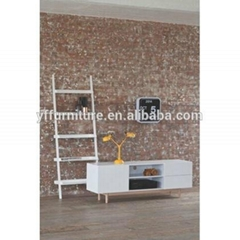 Morden Pictures of Wooden Designs LCD TV Cabinet with Showcase