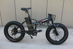 20'' electric foldable bicycle