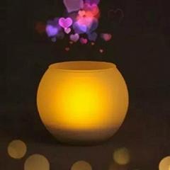 欧司朗仿蜡烛灯LED 床头灯创意灯酒吧灯情调灯电子吹控灯