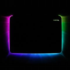RGB Mouse Pad Mat Hard L