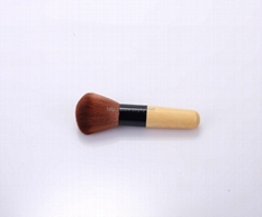 good quality totally ECO-friend bamboo handle makeup blush brushes