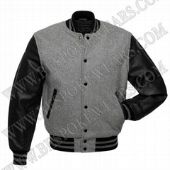 Custom Letterman Jacket in Melton Wool Varsity Jackets