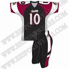 SUBLIMATED AMERICAN FOOTBALL UNIFORMS