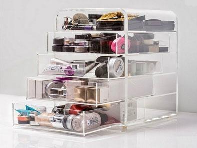 Acrylic cosmetic display box 1