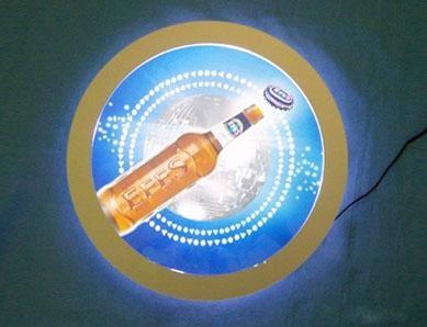 acrylic  brand sign display 1