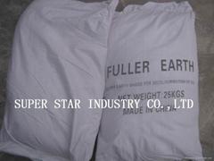Fuller Earth for vegetable oils decolourization