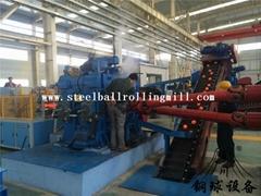 Hot rolled steel ball machine